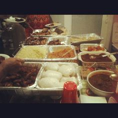 Dinner after our NJ fellowship  Look at that spread. Glory be to God! Fried #Plantains, #banku, #jollof, #shrimp fried #rice, #fish, baked #chicken, stewed chicken, #okro soup, #kenke. #OhYou'veNeverBeenToAGhanaianDinner? #Ghana