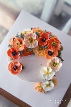 양귀비꽃_ 플라워케익 : 수케이크 : 네이버 블로그