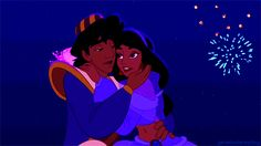 Maybe the sky will light up for your kiss! | Which Disney Kiss Are You This Valentines Day?