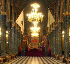 Lodge room, Grand Lodge of Sweden - www.frimurarorden.se
