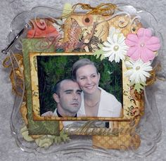 Erka kreatív világa: Esküvői albumunk  Wedding album My Works, Scrap, Marvel, Frame, Home Decor, Picture Frame, Decoration Home, Room Decor, Frames