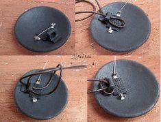Brooch - pendant. Loop for the cord. | by _KateValeri_