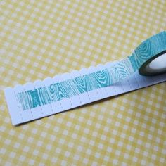 washi creates a beautiful center in the rosette  Another use for washi tape @Heather Dennis