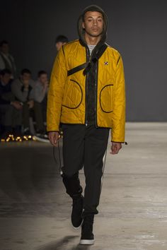 See the complete Ovadia & Sons Fall 2017 Menswear collection. BLACK AND GOLD.