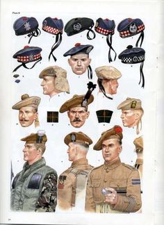 Scottish headgear in the British Army