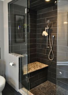 consider similar design with tile and pebble floor for foot massage.,,,steam shower