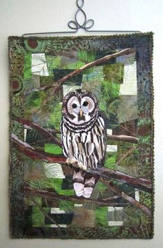 BSL Art Barred Owl Quilt