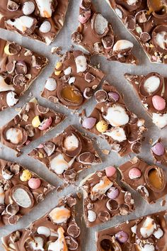 Seriously Loaded Easter Chocolate Bark