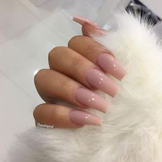 In look for some nail designs and some ideas for your nails? Listed here is our set of must-try coffin acrylic nails for trendy women. Aycrlic Nails, Nude Nails, Hair And Nails, Coffin Nails, Nails 2016, Uv Gel Nails, Best Acrylic Nails, Acrylic Nail Designs, Coffin Nail Designs