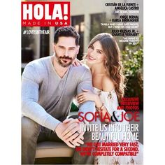 Sofia Vergara and Joe Manganiello give HOLA! USA an exclusive look at their new L. home as they talk married life Joe Manganiello, Sofia Vergara, Celebrity Pictures, Celebrity News, Woman Meme, Best Dating Apps, Love Is In The Air, Dating Tips For Women, Couple