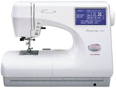 My wife's Janome Memory Craft 9000 Embroidery Sewing Machine