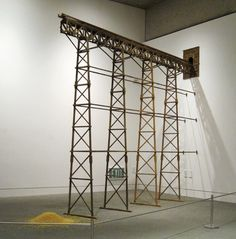 Highlight> Michael C. McMillen: Train of Thought Oakland Museum, Train Of Thought, Oak Street, Art And Architecture, Contemporary Art, Graphic Design, Sculpture, Decay, Diorama