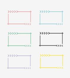 Frame Photo Frame Colored Border Arrow PNG and Clipart Bullet Journal Banner, Bullet Journal Writing, Bullet Journal School, Bullet Journal Lettering Ideas, Bullet Journal Ideas Pages, Boarder Designs, Page Borders Design, Clipart Photo, Vector Photo