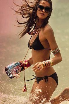 Black swimsuit....summer....sea....❤