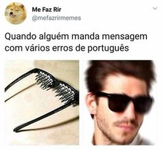 Quando a pessoa escreve SEGO kkkkkkkkk Love Memes, Funny Memes, Be Like Meme, Funny Posts, I Laughed, Things To Think About, Haha, Words, Random