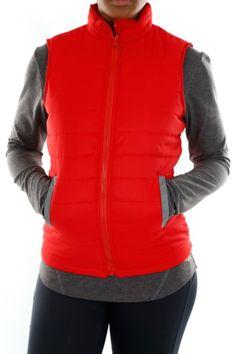Sleeveless Puffer Athletic, Lady, Fitness, Jackets, Fashion, Down Jackets, Moda, Athlete, Fashion Styles