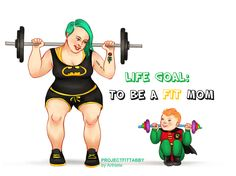 """Arthlete~ """"Life Goal: To be a fit mom"""""""