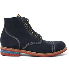 NCF Cap Suede Boots | MR PORTER