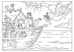 Malvorlage  Arche Noah                                                       …