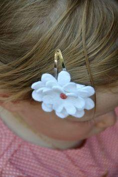 Barette fleur