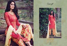 Enchanting Gold - Bemberg Catalog By Ganga Fashions