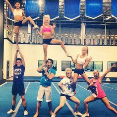 awesome for basketball season #cheer #cheerleading #cheerleader
