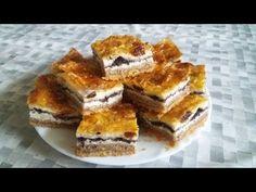 Gibanica, a százrétű rétes, ahogyan én készítem. - YouTube Tiramisu, French Toast, Muffin, Breakfast, Ethnic Recipes, Food, Youtube, Breakfast Cafe, Muffins