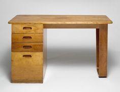 Dormitory Furniture for Rhoads Hall, Bryn Mawr College: Desk
