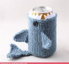 who can crochet well enough to teach the rest of us how to do animal koozies? Kirk? :)