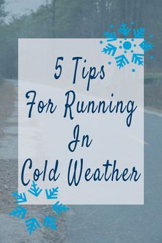 The temperature has been dropping to sub-freezing conditions as the polar   vortex looms, ready to shift south a bit to make things really   uncomfortable for us runners. It always takes a huge effort for me to run   when it gets cold. And I'm not talking 45℉ chilly, but legitimately cold   for Durham, North Carolina. Here are 5 tips on how to run in the cold!