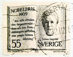 stamp Sverige 55 öre Selma Lagerlöf portrait Nils Holgersson Nobelpris Nobel Price postage 55 frímerki Svíþjóð طوابع السويد timbre Suède スタンプ スウェーデン postimerkkejä Ruotsi แสตมป์ สวีเดน bélyegek Svédország francobolli svezia марки Швеция 邮票 瑞典 by stampolina, via Flickr