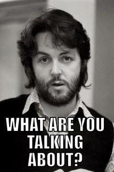 Paul McCartney - Always my favorite mushroom <3
