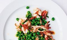 Ruth Rogers' Squid with Peas + Anchovies