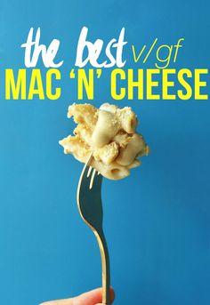 THE BEST Vegan Gluten Free Mac n Cheese - 30 minutes required! #vegan #glutenfree #macncheese