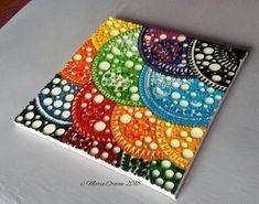 Rainbow drops by Maria Oroian