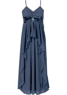 Maxikleid dunkelblau - BODYFLIRT jetzt im Online Shop von bonprix.de ab ? 43,99 bestellen. Elegantes Abendkleid mit Brosche unter der Brust.