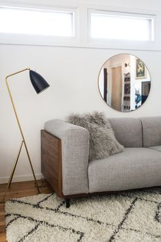 a refresh with overstock via simply grove mobel selber bauen regal messing stehleuchte