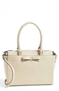 Office ready petite leather tote