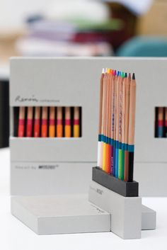 Renoir Pencils & Packaging. Celebrating National Pencil Day with a few of my favorite pencil pins. PD