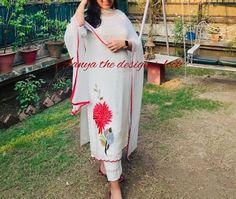 Punjabi Suits Party Wear, Chanderi Suits, Embroidery Suits, Indian Suits, Indian Designer Wear, Kurti, Swag, Boutique, Flower