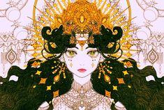 Greek Goddess Art, Geisha Art, Beautiful Fantasy Art, Sad Art, Mystique, Hippie Art, Anime Art Girl, Zoro, Art Sketchbook