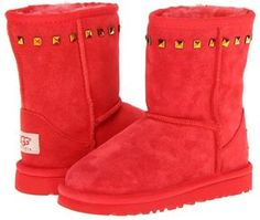 UGG Kids - Classic Stud (Toddler/Little Kid) (Hibiscus Suede) - Footwear on shopstyle.com