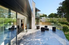 Nairn Road, Canford Cliffs, Poole - David James Architects & Partners Ltd Architecture Awards, Residential Architecture, Modern Architecture, Contemporary Bedroom, Contemporary Houses, Detached House, Decoration, Luxury Homes, House Plans