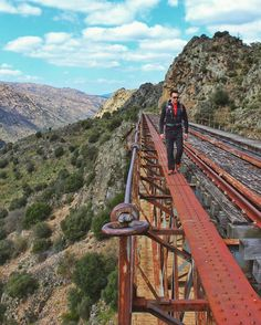 Ruta de los Túneles an old railway line with 17kms that connects Barca d'Alva to La Fregeneda (Portugal and Spain) #hiking #camping #outdoors #nature #travel #backpacking #adventure #marmot #outdoor #mountains #photography