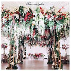 mnogourovnevost dekora svadby1