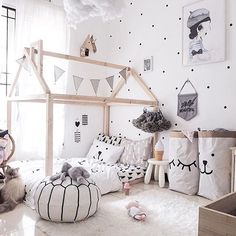 Pic of the day by @blogsachi love the dots #mrsmighetto #missvivienne #lespetitscollection #kids #kidsroom #kidsdecor