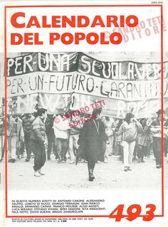 Il Calendario del Popolo n° 493, 1986