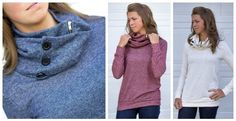 Zipper detail sweatshirt