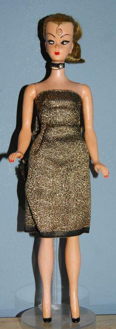 "Vintage Bild Lilli / Barbie Clone Hong Kong Molded Shoes 11 ½"" Tall | eBay"