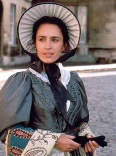 Dorothea from Middlemarch. Rumor has it that Sam Mendes is wanting to do a new adaptation.  The 1994 miniseries is pretty decent.  Dorothea's costuming is nice - very elegant, but simple in opposition to her more flighty and selfish sister, Celia.  Considering the time period (1830s), the hair/sleeves are in control for the most part.  Middlemarch always drove me crazy.  Dorothea ends up marrying a guy she barely knows, when she and Dr. Lydgate were clearly soul mates.  Dang you, classic…
